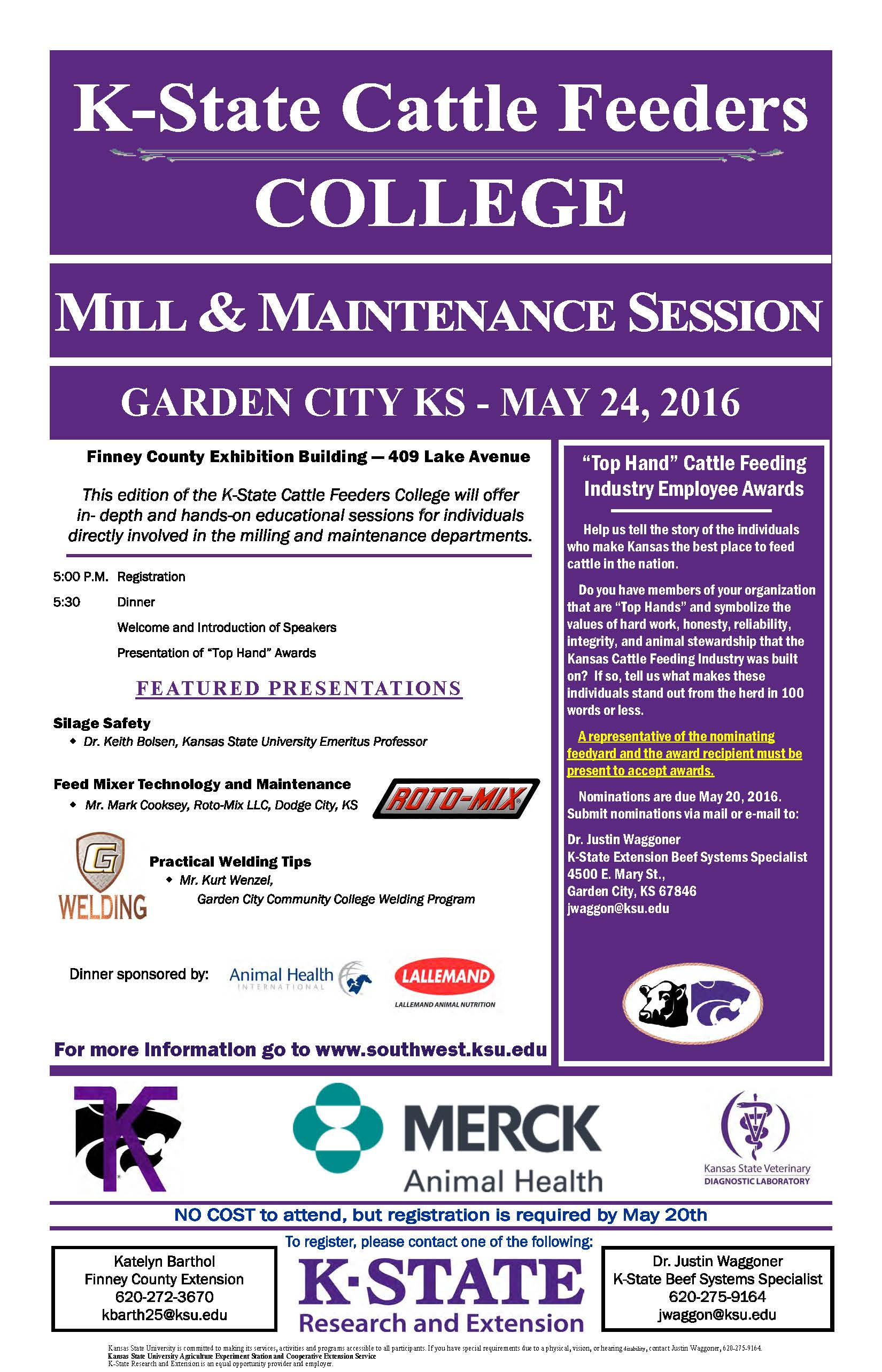 2016 Cattle Feeders Flyer